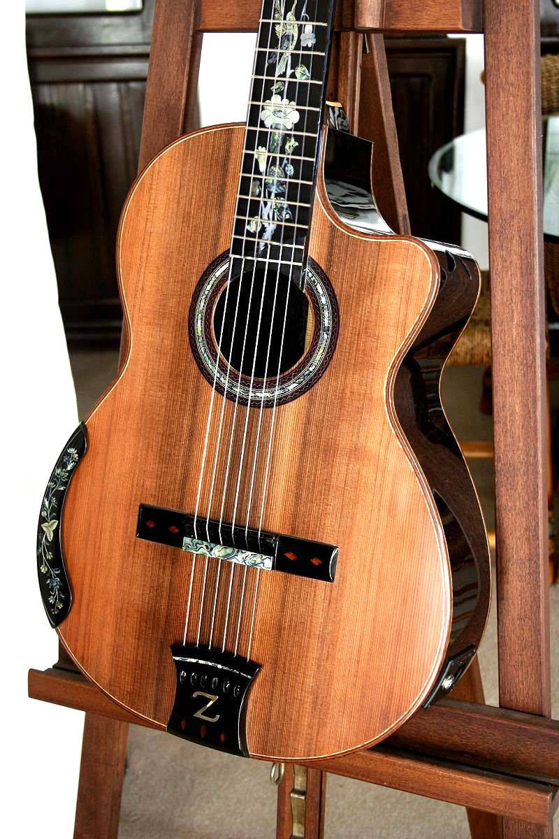 The Zorro Ebony Or Blackwood B S Sinker Redwood Top Concert Classical Guitar Guitar Classical Acoustic Guitar Classical Guitar