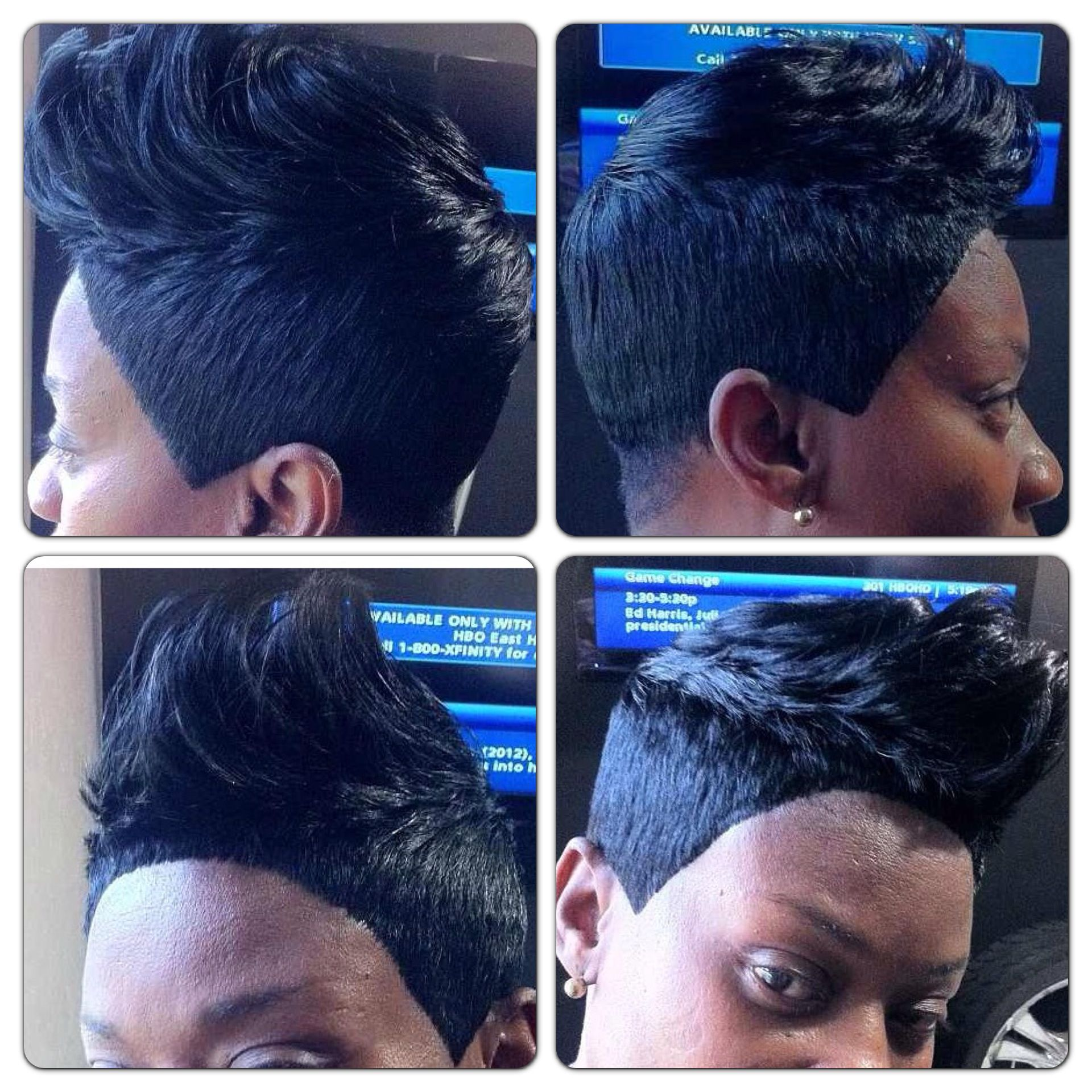 Spiked 27 Piece Quickweave Short Weave Hairstyles 27 Piece Hairstyles Short 27 Piece Hairstyles