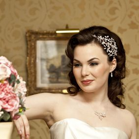 Bridal Hair Accessory From Tantrums Tiaras
