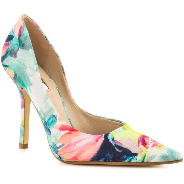 Womens Shoes GUESS Carrie Pink Multi Fabric