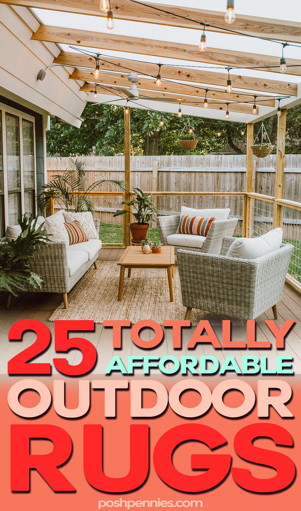 The Most Affordable Outdoor Patio Rugs #outdoorrugs