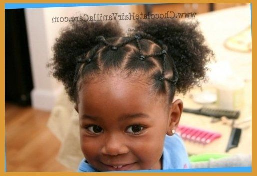 African american little girl hairstyles for short hair