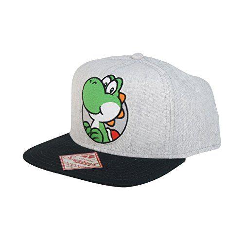 fbcd79702ed2c Casquette  Super Mario Bros  - Snap Back - Yoshi   Promo Ebay ...