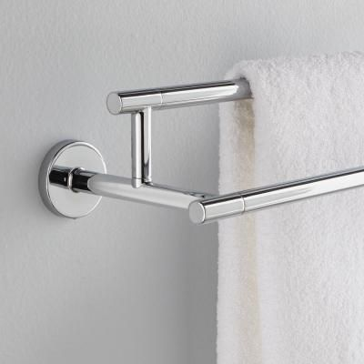 Delta Trinsic 24 In Double Towel Bar In Chrome 75925 Towel Bar