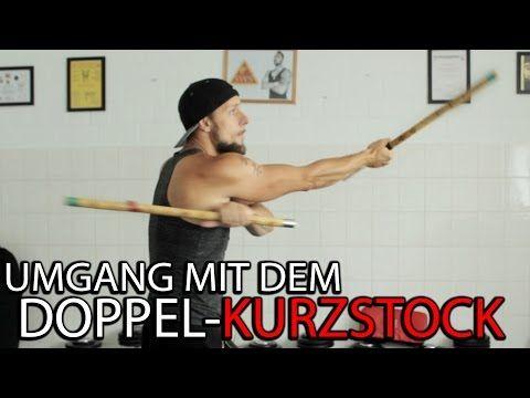 Umgang mit dem Doppel Kurzstock   Die ersten Übungen   KAMPFKUNST LIFESYTLE - YouTube