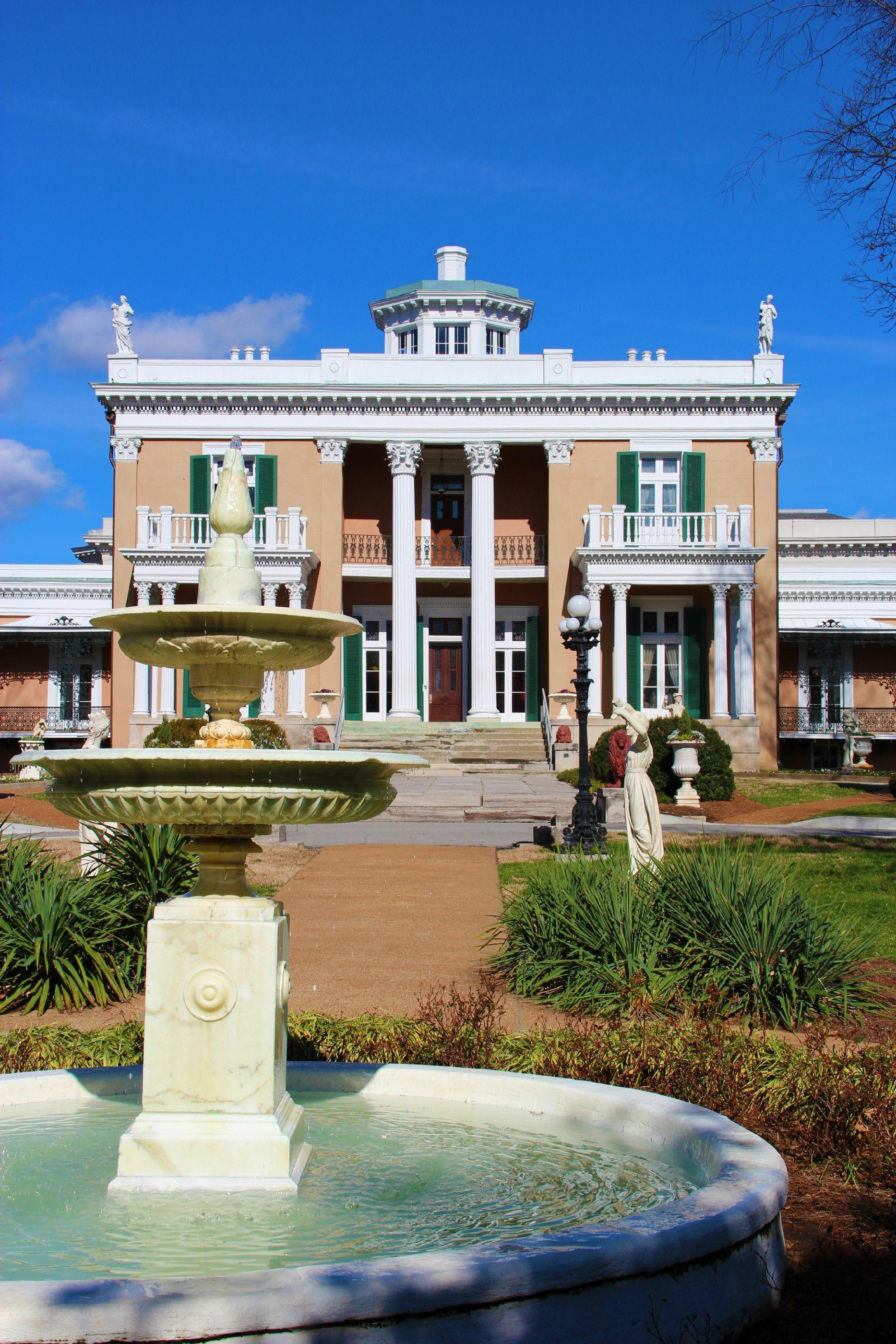 Belmont Mansion Nashville Museum Oneofakindnashville