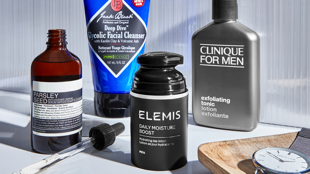 Being A Man Is A Poor Excuse For Not Taking Care Of Your Skin In This Post We Give You A Simple 4 St In 2020 Men Skin Care Routine Mens Skin