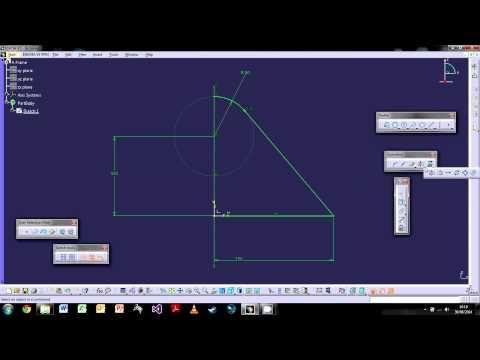 Catia V5 The Basics Tutorial 2 The Sketch Workbench Solidworks Tutorial Workbench Tutorial