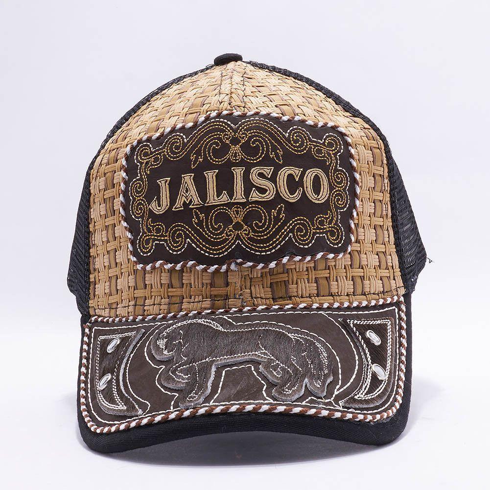 Gorra Charra Jalisco Western Cowboy Snapback Mesh Hat Cap Mayoreo  MXJA-002  fb35459d367