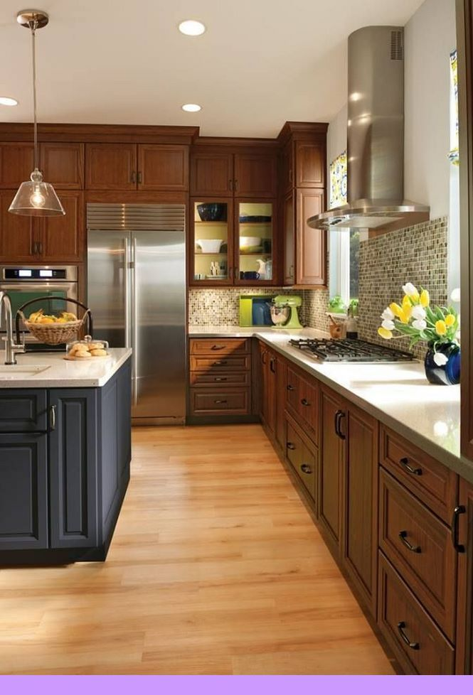 Dark, light, oak, maple, cherry cabinetry and cherry wood kitchen cabinets uk.  CHECK PIN for Many Wood Kitchen Cabinets. 8572005524 #darkkitchencabinets