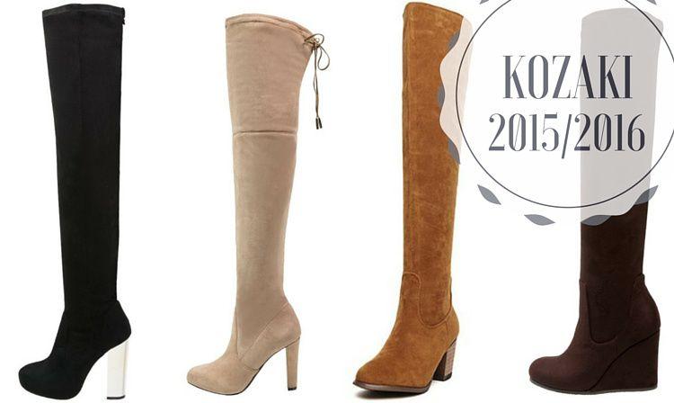 Najmodniejsze Kozaki Na Zime 2018 Boots Over Knee Boot Shoes