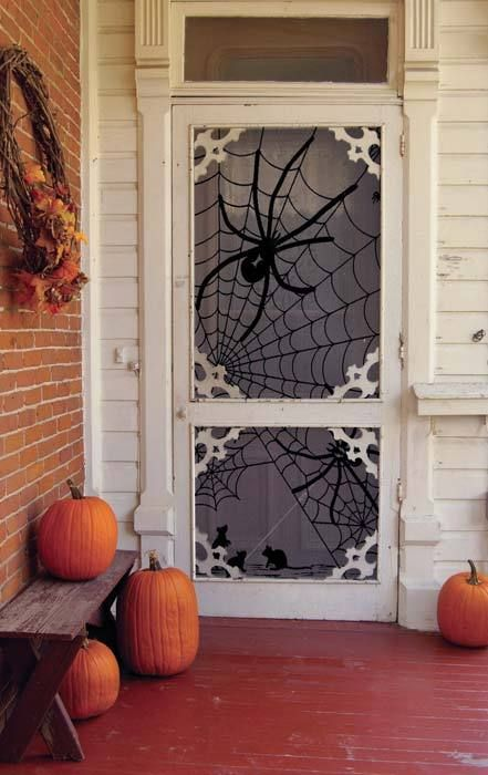 Cute for a side door at Halloween...