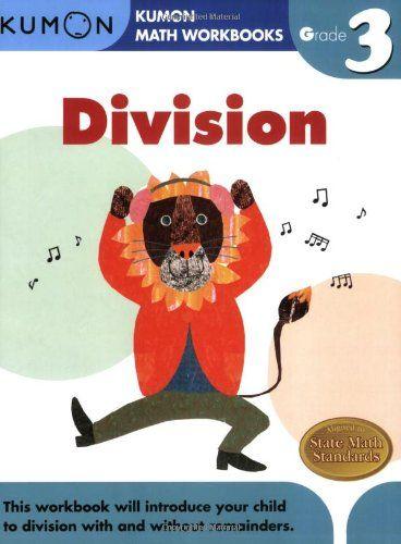 Grade 3 Division Kumon Math Workbooks Math Workbook Kumon Math Kumon Kumon math worksheets for grade 3