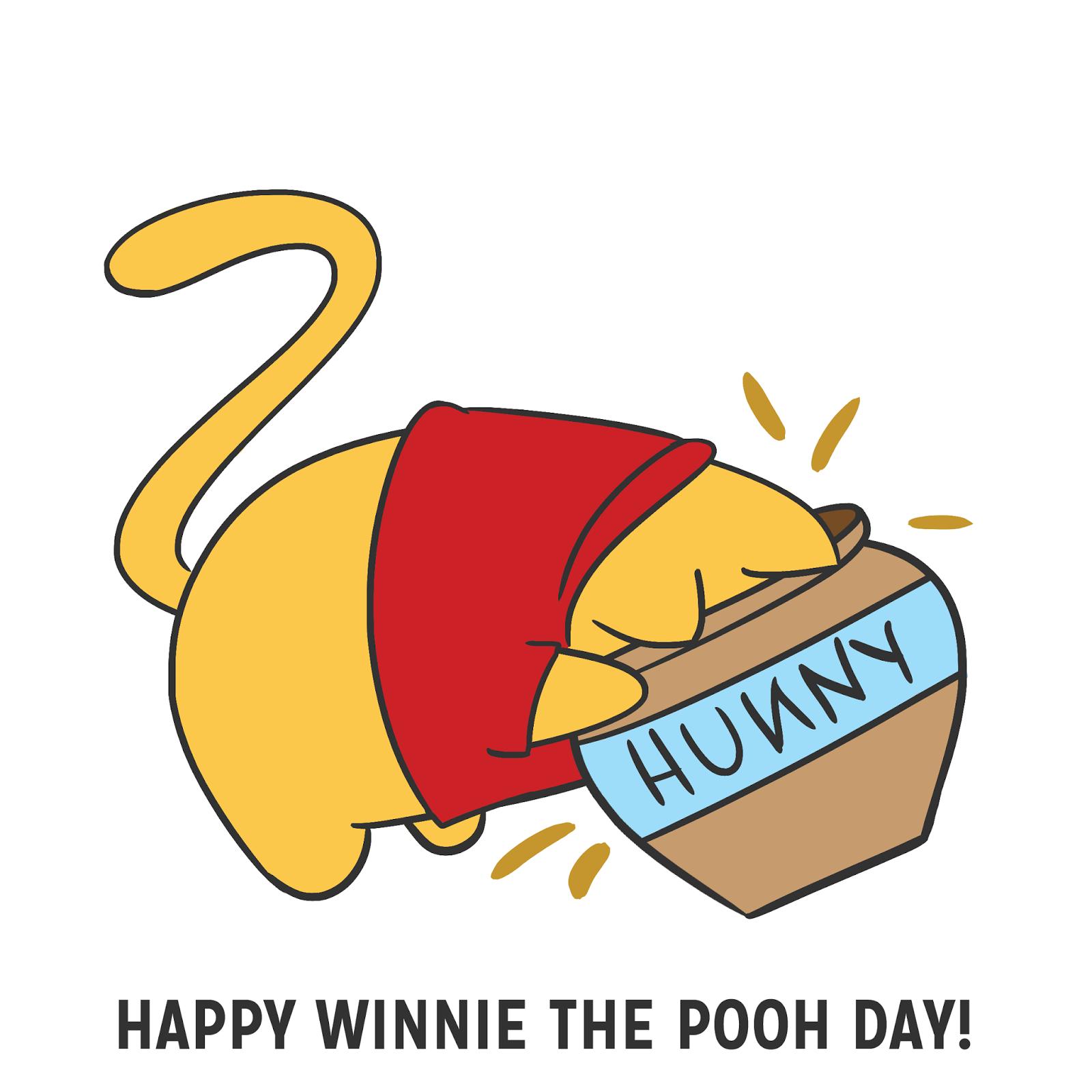 the pink samurai january 18 u2022 happy winnie the pooh day winnie rh pinterest com Independence Day Winnie the Pooh Vintage Winnie the Pooh Clip Art