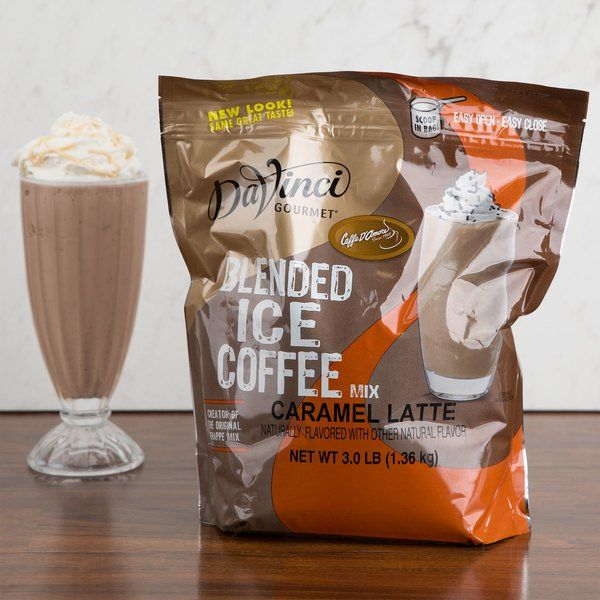 DaVinci Gourmet 3 Lb. Ready To Use Caramel Latte