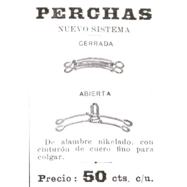 Perchas #argentina #buenosaires #1900 #ads #vintage