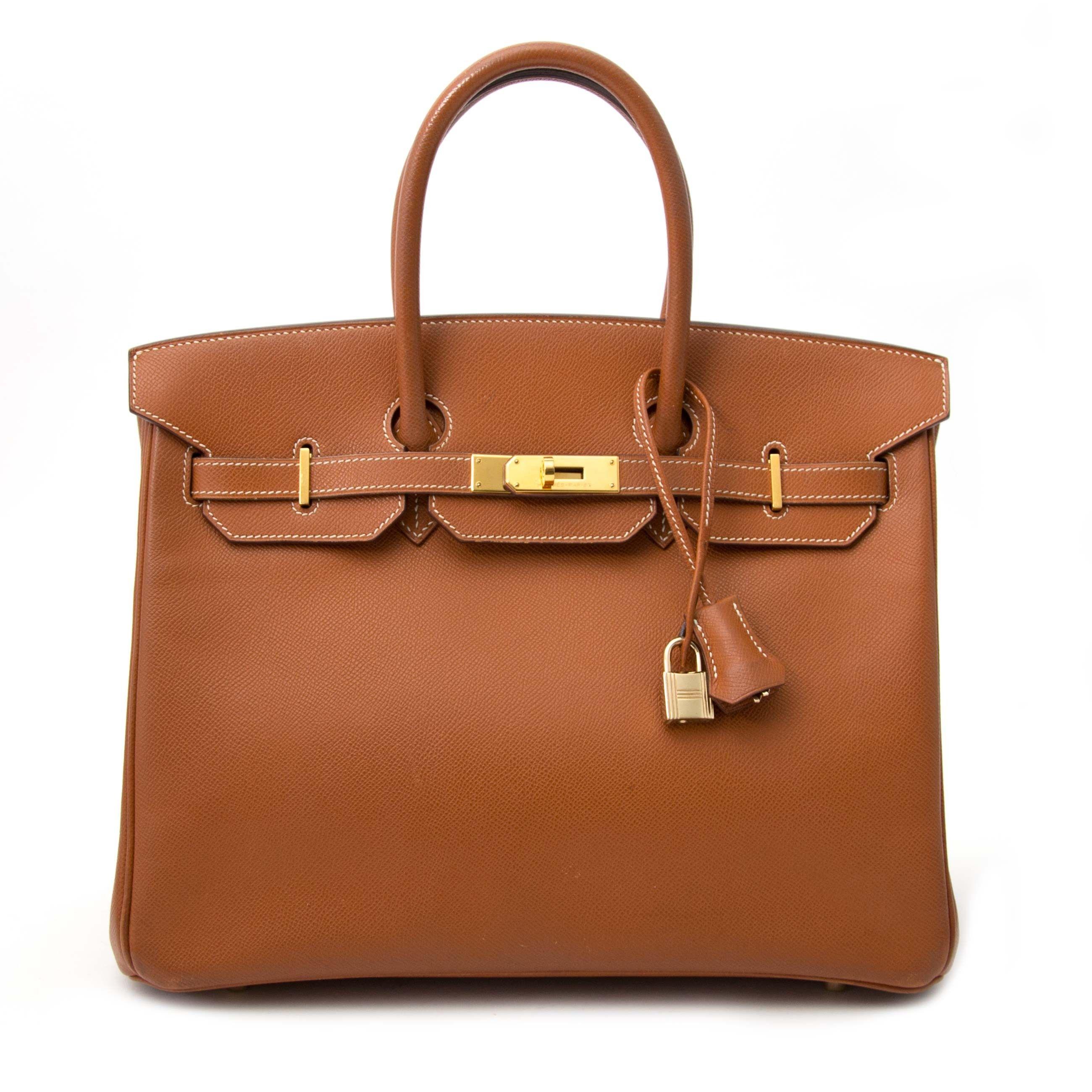 2075fc535cca8 Hermès Birkin 30 Etoupe Togo GHW for sale online at Labellov