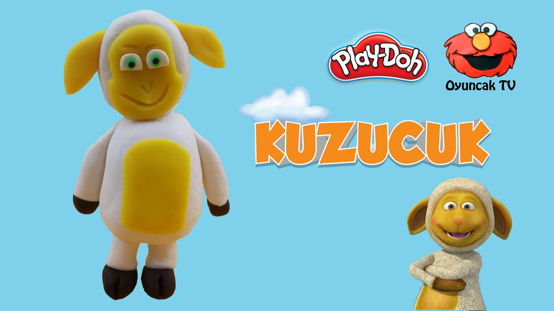 Trt Kuzucuk Karakteri Play Doh Oyun Hamuru Ile Yapimi Oyun Hamuru Play Doh Oyun