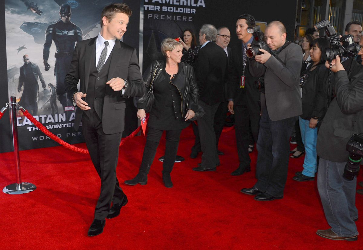 'Captain America: The Winter Soldier' red carpet photos.