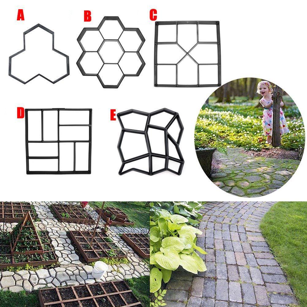 Compra Fácil Vive Mejor Aliexpress Com Garden Paving Garden Tools Decor Concrete Stepping Stones
