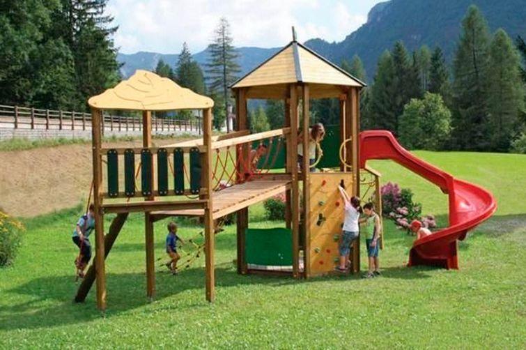 Cómo construir un área de juegos infantiles | juegos | Backyard for ...