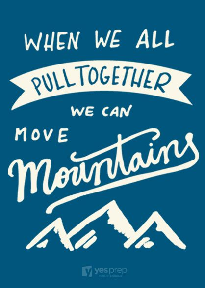 Image result for together we can move mountains