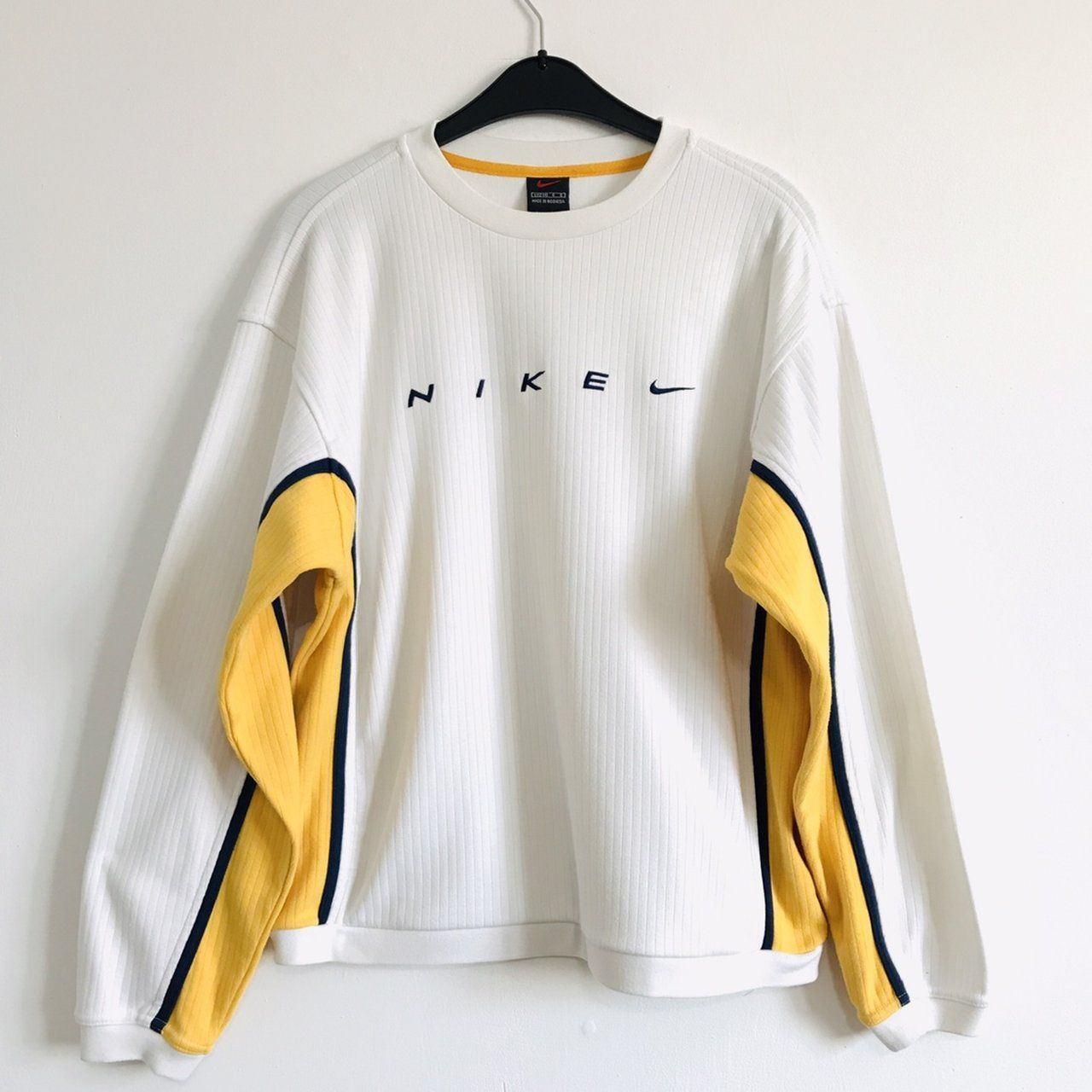 Vintage Nike Yellow SweaterJumper | Clothes, Trendy outfits