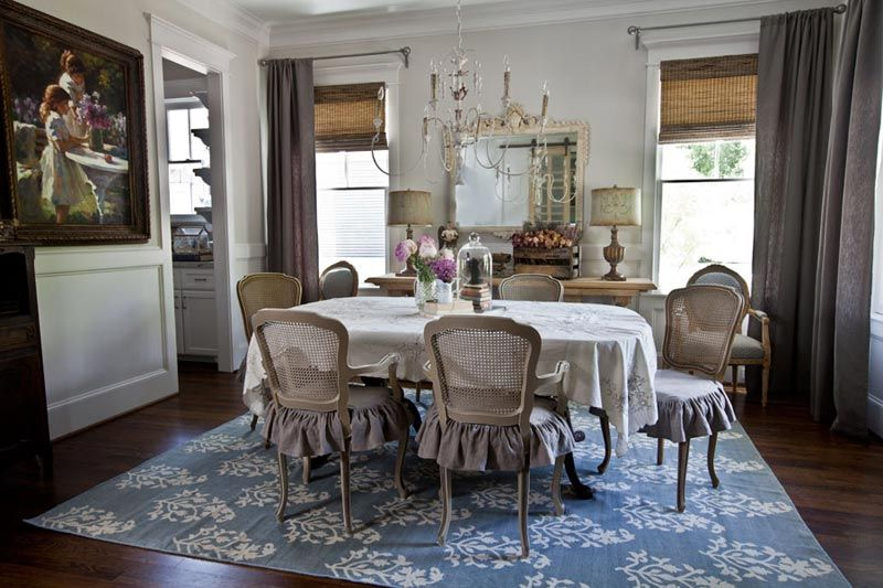 Room French Country Dining Chair Slipcovers