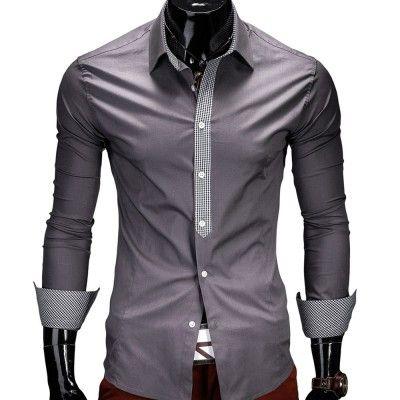 fc70b3b1ddca Herren-Hemd mit karierten Details   My Style   Pinterest