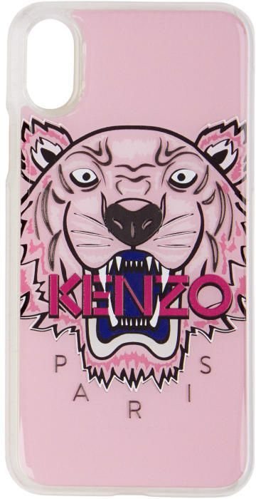 cf7c1efc87 Kenzo Pink 3D Tiger iPhone X Case | Products | Pink iphone 7 case ...