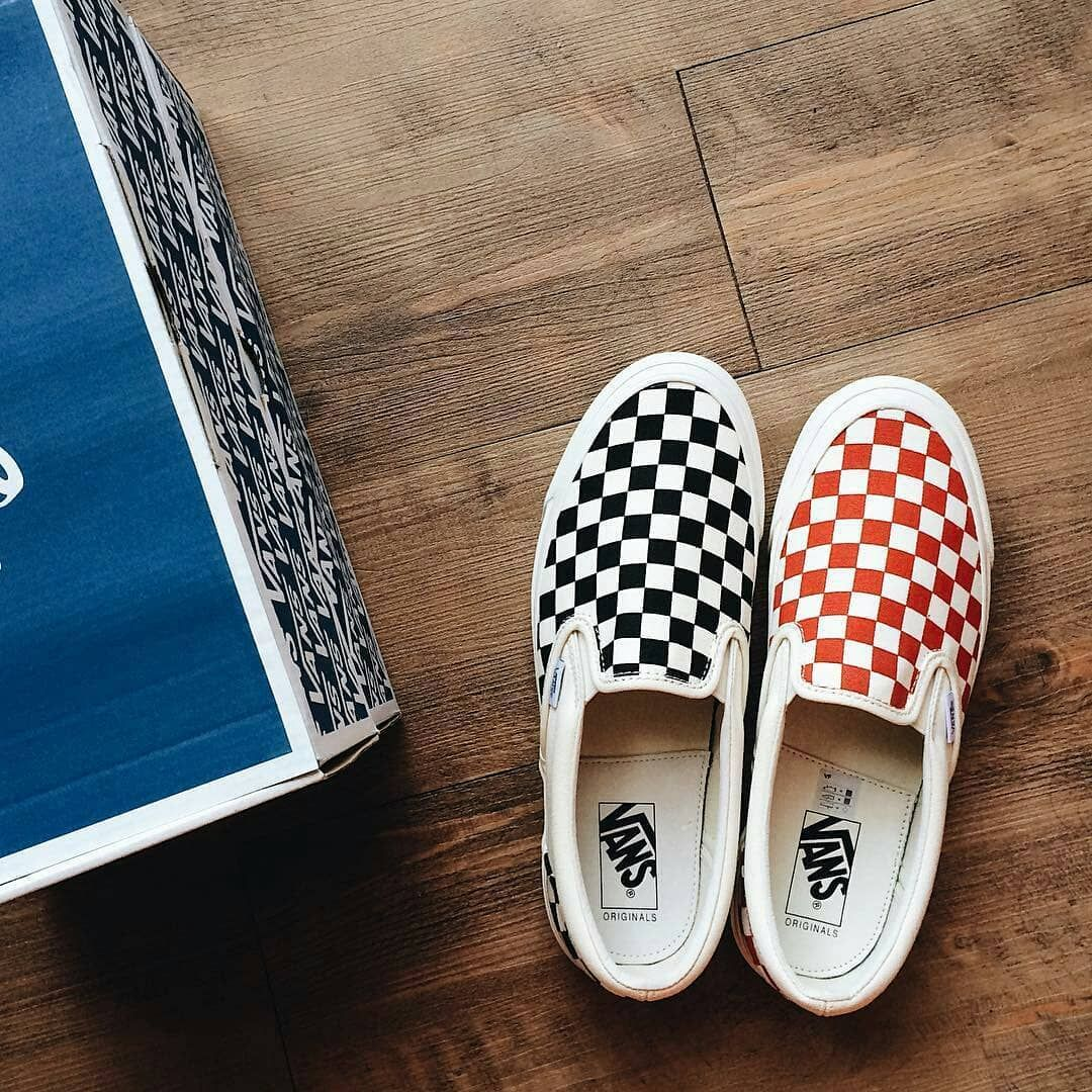 cf34efea0a4 Vans Vault Checkerboard Slip-On