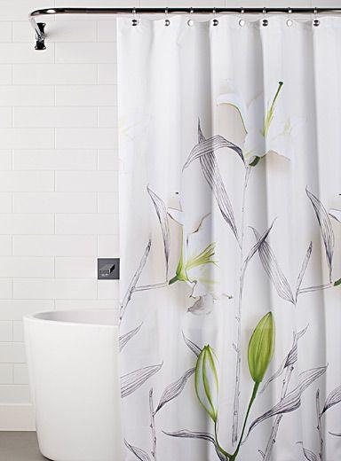 choisissez parmi notre slection tendance de rideaux de douche en tissu qui complteront lambiance chic moderne ou relaxante de votre salle de bains - Rideau Salle De Bain Tissu