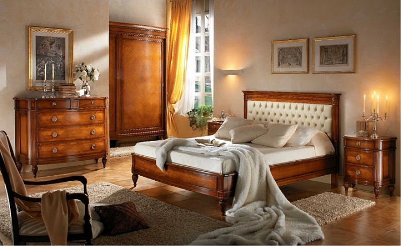 Schlafzimmer Kolonial ~ Louis bett kolonialstil leder colonial