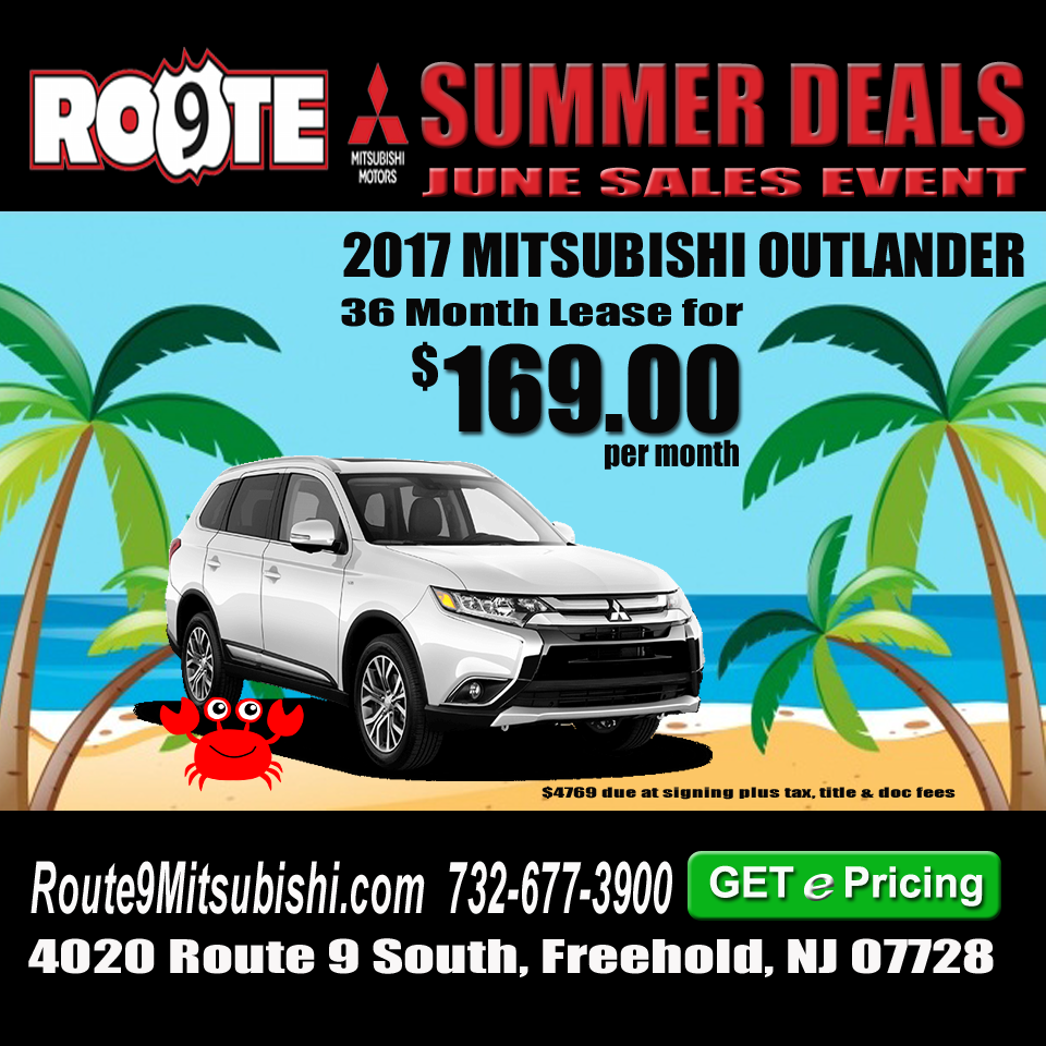 Lease Specials Available Lease specials, 2017 mitsubishi
