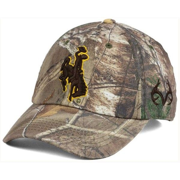 Top of the World Wyoming Cowboys Fallout Stretch Cap ($20) ❤ liked