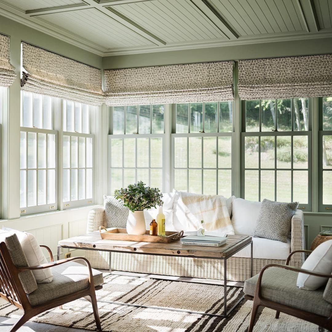 Window ideas for a sunroom  cozy modern farmhouse sunroom design ideas   sunroom  pinterest