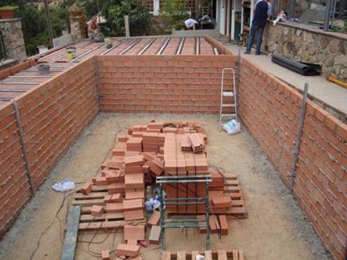 Como Construir Una Piscina De Obra Hacer Piscina Piscinas Hechas En Casa Construcción De Piscinas