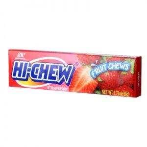 Hi-Chew Strawberry Fruit Chews - 10 Count Box
