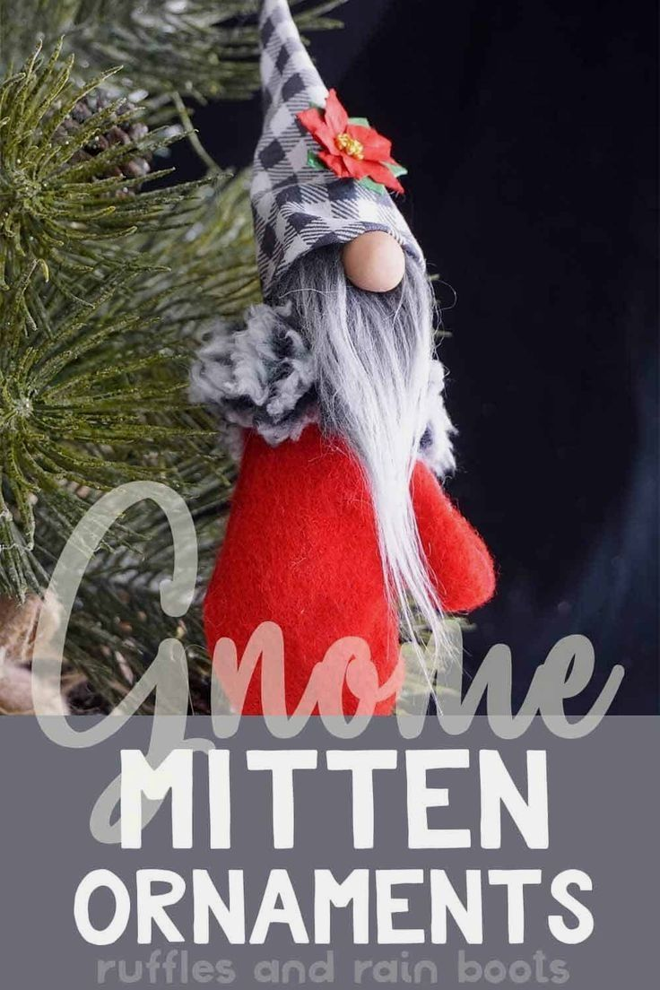 Pin by Shar Hoffman on Diy in 2020 Gnome ornaments