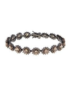 pulseira riviera com rodio negro joias de luxo