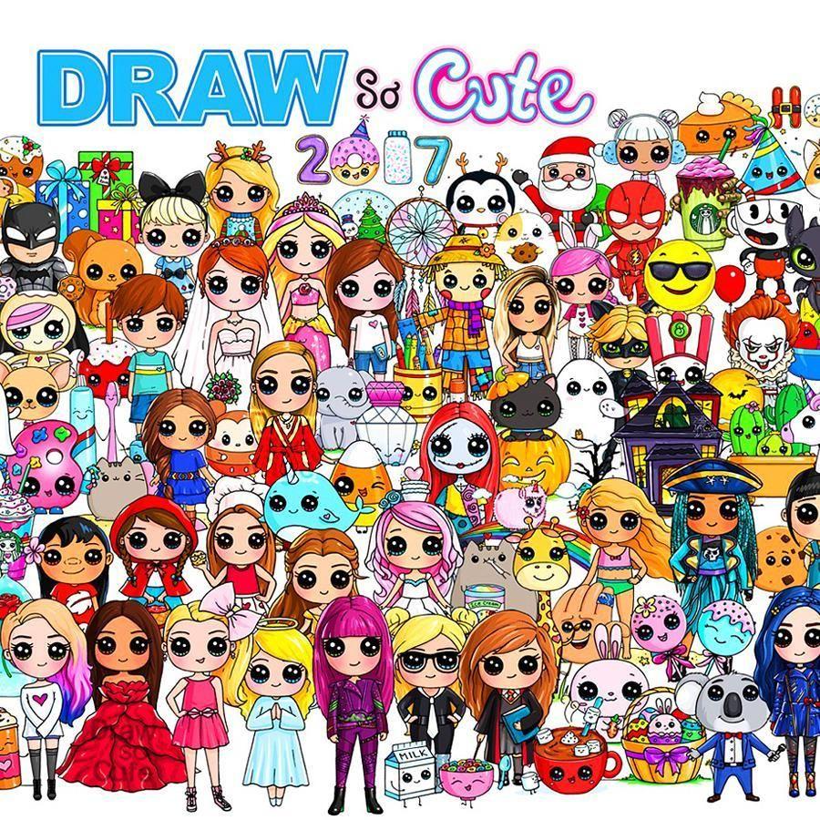 Draw So Cute Drawsocutebywennie Instagram Photos And Videos Cute Disney Drawings Cute Cartoon Drawings Cute Small Drawings