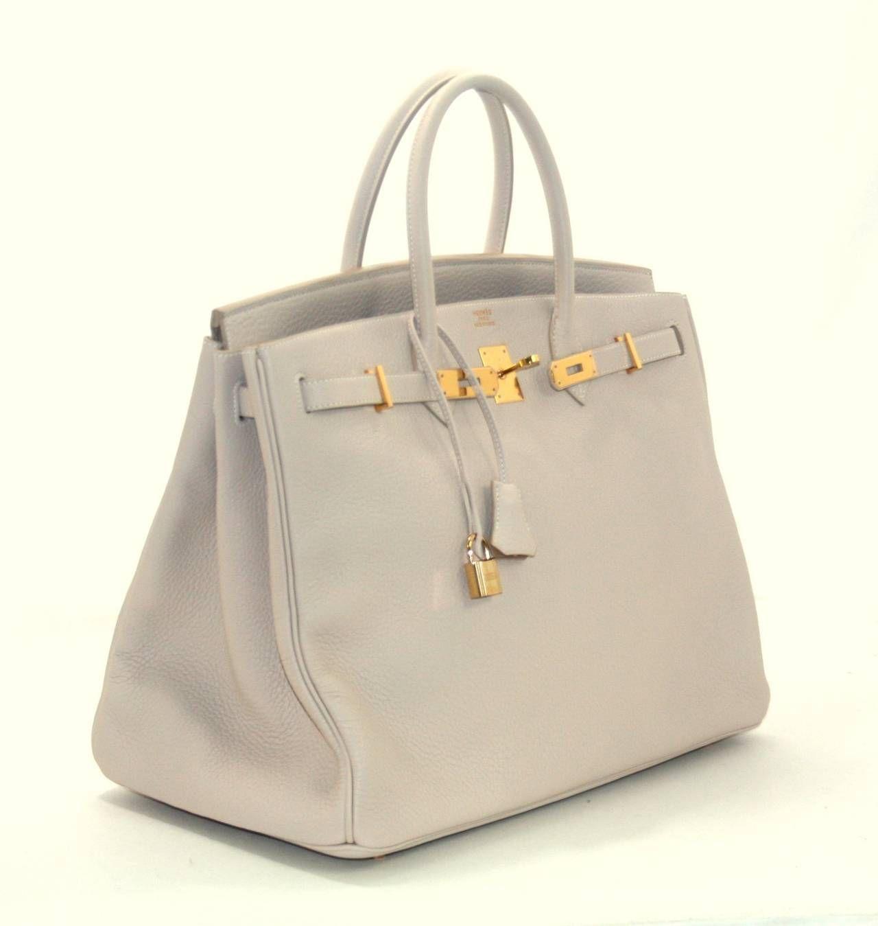 314affa4c8a6 Hermès Poudre Togo 40 cm Birkin Bag Gold HW image 3
