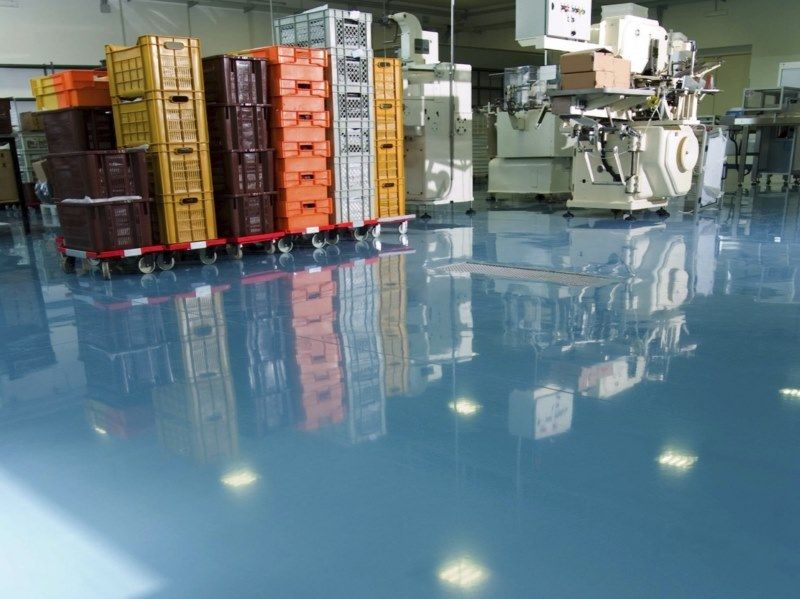 Sol Resine Polyurethane Aspect Mat Autolissant Resine Sol Resine Sol Garage Resine Carrelage