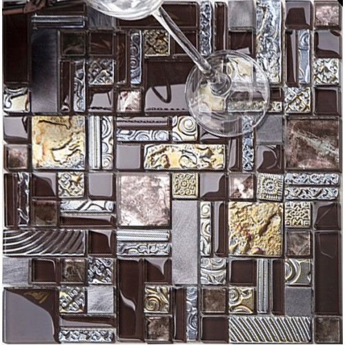 Deluxe Gl Metal Mosaic Sheets