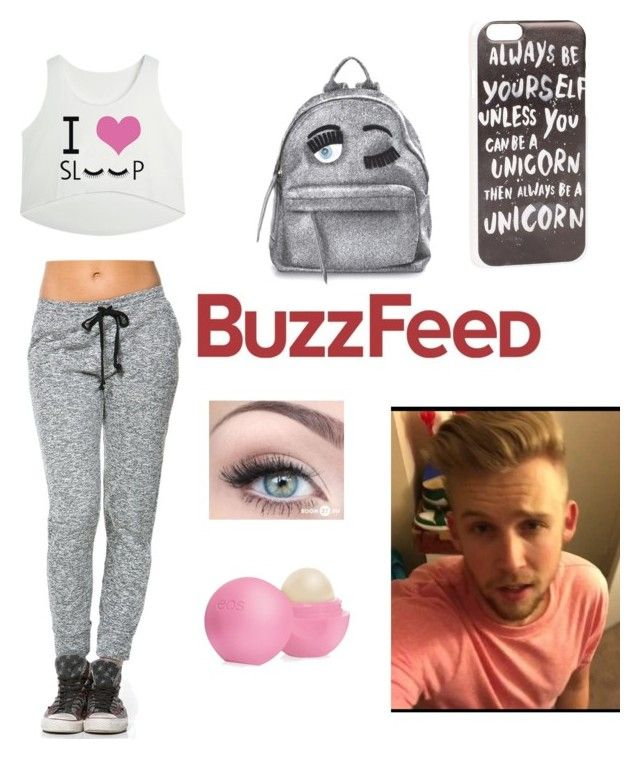 """Met Zack Evans at Buzzfeed"" by mezzymezmez on Polyvore featuring Chiara Ferragni, Eos, JFR, women's clothing, women's fashion, women, female, woman, misses and juniors"