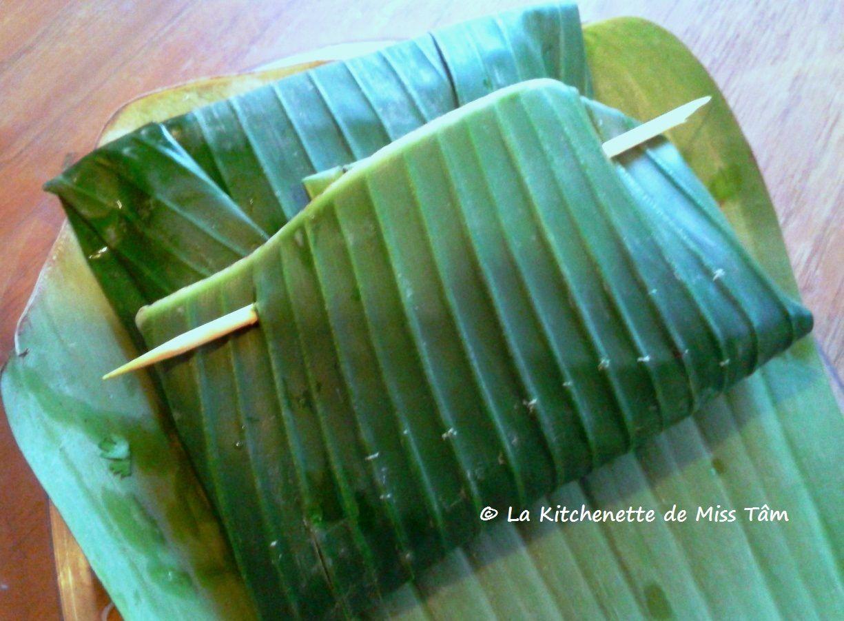 amok trei , recette de poisson cambodgienne