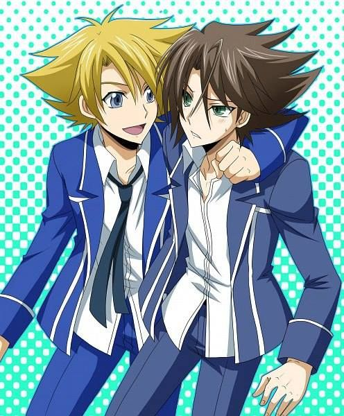Vanguard Cardfight Kai Miwa and Kai (Cardfigh...