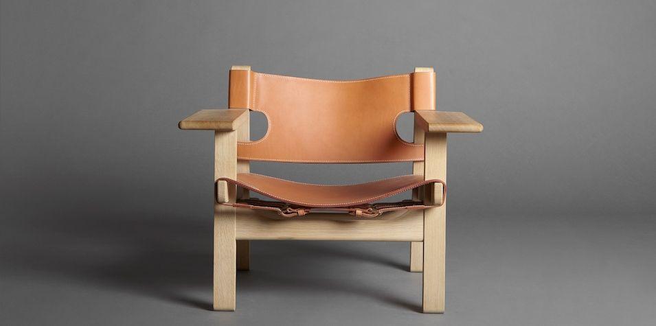 mjölk the spanish chair by borge mogensen spanish chair web