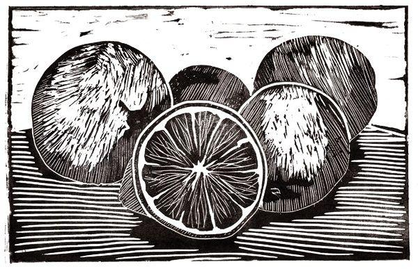 Lino prints of fruit google search