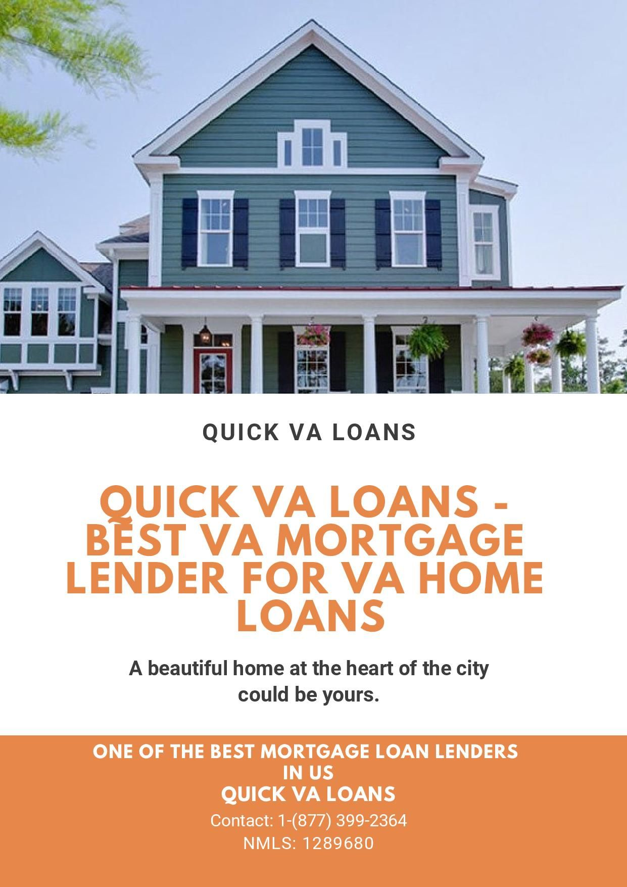 Quick Va Loans Is One Of The Best Mortgage Loan Lenders In Idaho